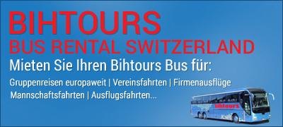 Bihtours - Bus Rental Switzerland