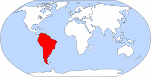 Kontinent Südamerika